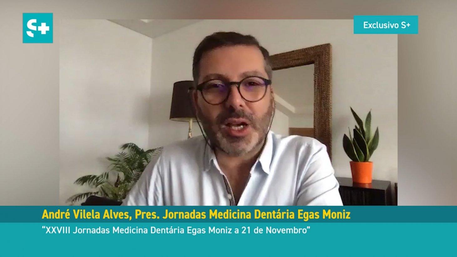 André Vilela Alves, Presidente das XXVIII Jornadas Medicina Dentária Egas Moniz #01