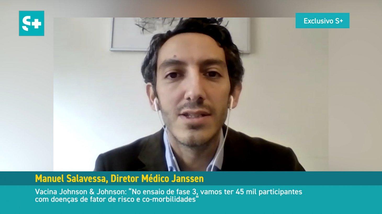 Manuel Salavessa, Diretor Médico da Janssen #04