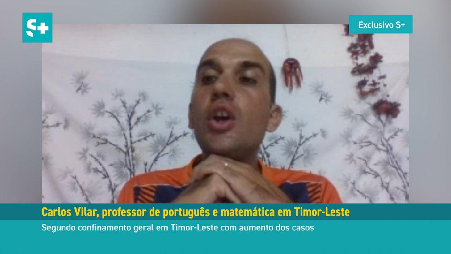 Carlos Vilar, professor de português em Timor-Leste #01