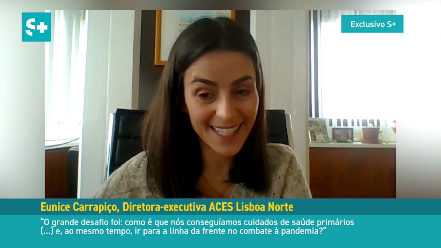 Eunice Carrapiço, diretora-executiva ACES Lisboa Norte #01