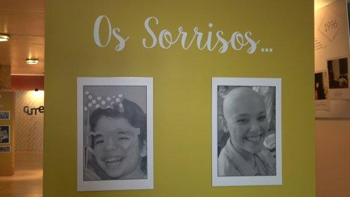 Exposição retrata o percurso de crianças com doença oncológica
