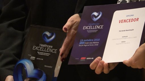 INEM recebe Prémio Healthcare Excellence