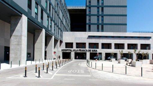 Doentes foram internados em refeitórios e em casas de banho no Hospital V.F. Xira