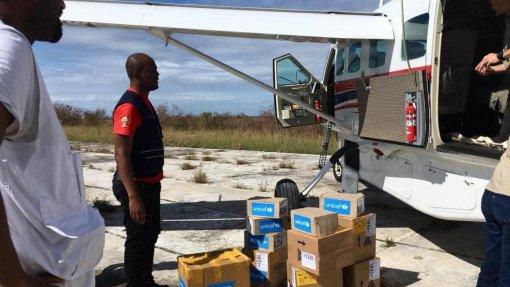 Moçambique/Ciclones: Programa Mundial para a Alimentação e Unicef apoiam 100 mil pessoas afetadas pelo Idai