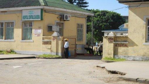 Moçambique/Ciclones: Bancos dão 500 mil euros para reabilitação do Hospital Central da Beira