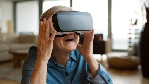 Realidade virtual ajuda ao envelhecimento ativo de idosos na região Centro