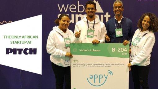 """Web Summit: 'Startup' angolana cria plataforma para """"acrescentar transparência"""" aos serviços de saúde"""