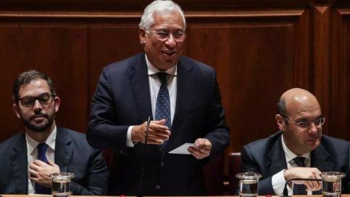 Costa afirma que Portugal regista aumento do salário mediano e redução do risco da pobreza