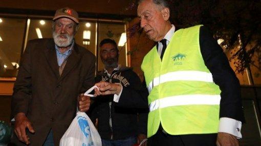 """PR diz que portugueses estão mais despertos para problema dos sem-abrigo e mudança """"não pode parar"""""""