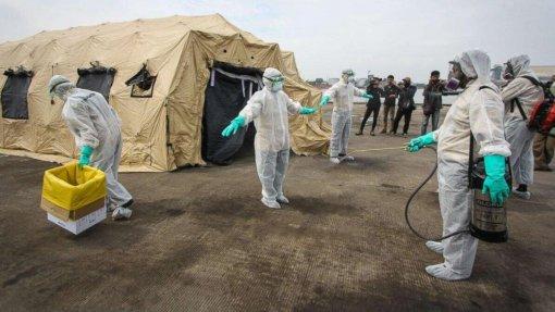 Ébola: Mais de três mil casos registados na República Democrática do Congo