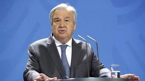 Guterres alerta para o perigo das alterações climáticas na mensagem de Ano Novo