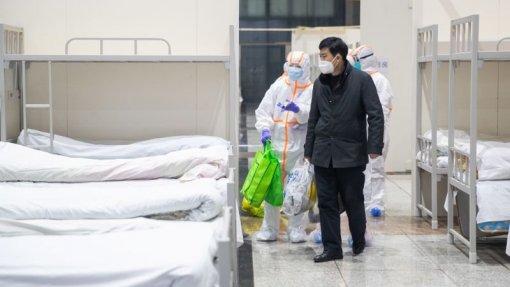 Covid-19: Número de mortos na província chinesa de Hubei ascende a 1.426