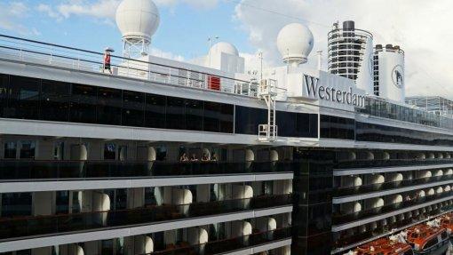 Covid-19: Análises negativas a dois passageiros do navio Westerdam que chegaram a Lisboa