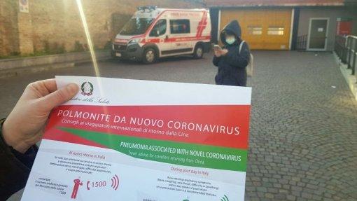Covid-19: Confirmada primeira vítima mortal em Itália, a segunda na Europa
