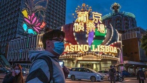 Covid-19: Jogo em Macau sofre perdas históricas, menos 87,8% em fevereiro
