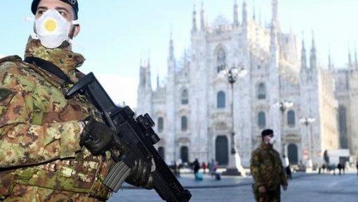 Covid-19: Governo de Itália estende quarentena a todo o país