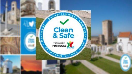 """Covid-19: Turismo de Portugal já atribuiu mais de 8 mil selos """"Clean and Safe"""" a empresas do sector que em Março perderam 40% das receitas"""