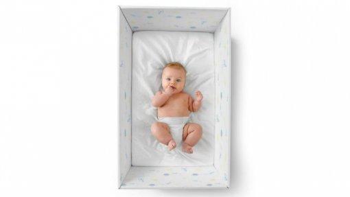 Startup de Famalicão cria caixa de cartão para sono mais seguro do bebé