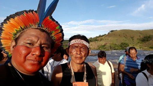 """Essa doença nos tem matado, antes mesmo dela chegar"", Chefe Enock Taurepang, presidente do Conselho Indígena de Roraima (CIR)"