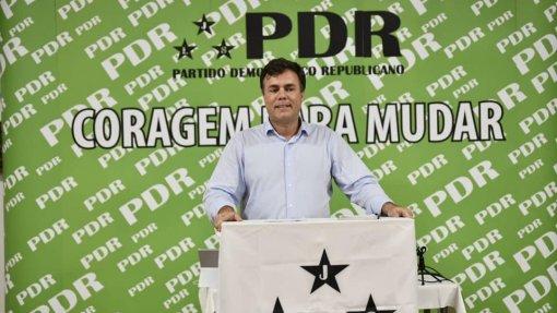 PDR pede audiência a Marcelo para debater combate à pandemia e presidenciais
