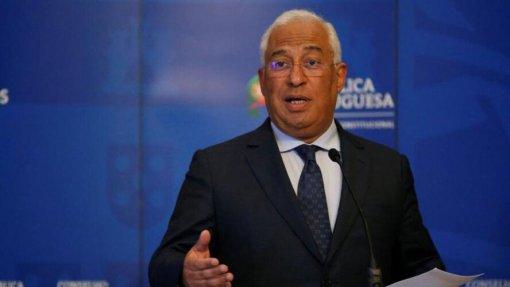 Covid-19: Costa afirma que situação de contingência visa manter pandemia controlada