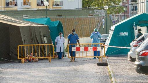 Covid-19: Portugal ultrapassou hoje 100 mil casos desde o início da pandemia