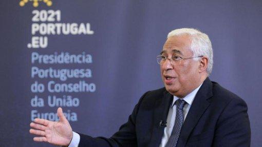 UE/Presidência: Portugal sozinho compraria menos vacinas contra a covid-19 e mais caras – Costa