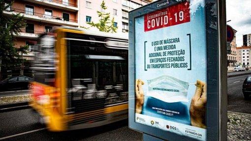 Covid-19: Índice de transmissibilidade de 0,71 no continente, Açores e Madeira acima de 1