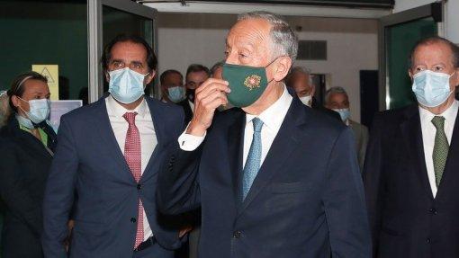 "Covid-19: Marcelo pede discurso sem ""guinadas"" e demarca-se de ""radicais sanitaristas"""